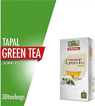 Tapal - Tapal Green Tea Jasmine Tea Bags (Pack Of 30)