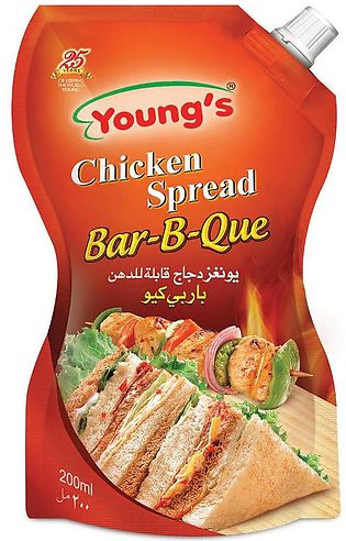 Young's - Young's BBQ Chicken Spread - 200ml