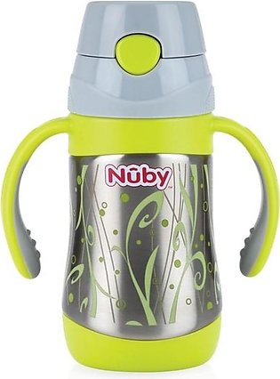 Nuby - Nuby 12+Months Insulated Sainless Steel Thermos - 280ml