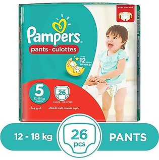 Pampers - Pampers Pants 12 To 18kg - 26Pcs
