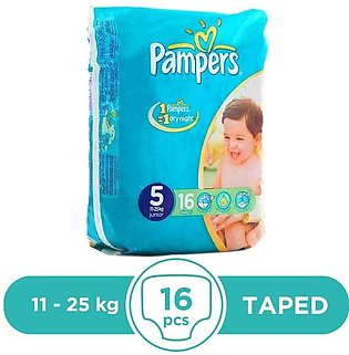Pampers - Pampers Taped 11 To 25kg - 16Pcs