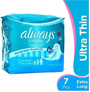 Always - Always Ultra Thin Extra Long Pads (Pack of 7)