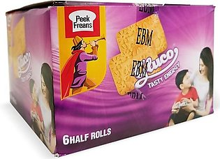 Peek Freans - Peek Freans Gluco Biscuits Half Roll (Pack of 6)