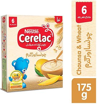 Cerelac - Nestle Cerelac Chaunsa and Wheat (6+ Months) - 175gm