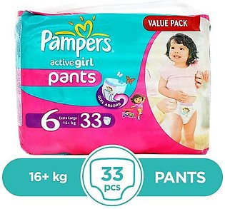 Pampers - Pampers Pants 16+kg - 33Pcs