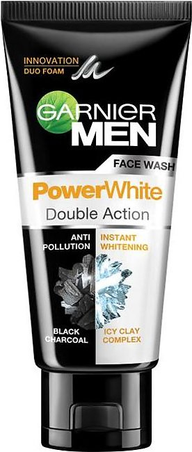 Garnier - Garnier Men Power white Double Action Black Charcoal IcyClay Complex …