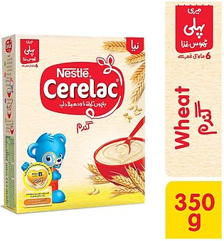 Cerelac - Nestle Cerelac Wheat (6+ months) - 350gm