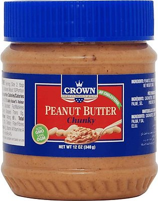 Crown - Crown Chunky Peanut Butter - 340gm