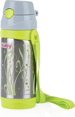 Nuby - Nuby 12+Months Insulated Sainless Steel Thermos - 360ml