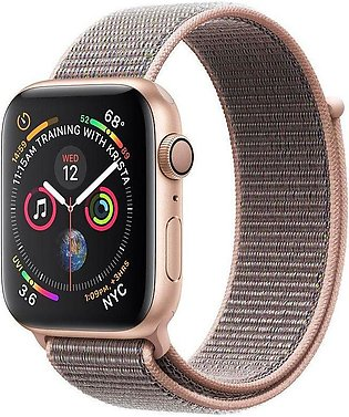 Apple | Watch Series 4 - 44mm GPS Gold Aluminium Case with Pink Sand Sport Loop