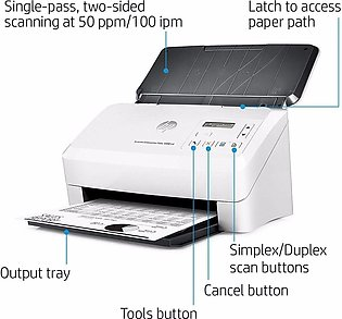 Hp | ScanJet Enterprise Flow 5000  - S4 Sheet-feed Scanner