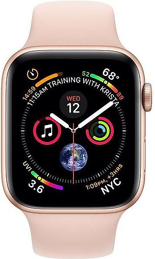 Apple | Watch Series 4 - 40mm Gold Aluminium Case with Pink Sand Sport Band