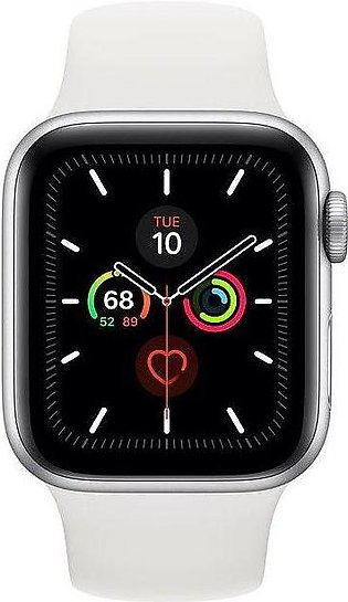 Apple | Watch Series 5 - 44mm Silver Aluminum Case with Sport Band