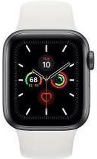 Apple | Watch Series 5 - 44mm Space Gray Aluminum Case with Sport Band