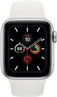 Apple | Watch Series 5 - 40mm Silver Aluminum Case with Sport Band