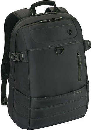 Targus | TBB567AP - EcoSmart Emerald GREEN Plus Backpack with DSLR Camera Pouch