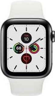 Apple | Watch Series 5 - 40mm Space Black Stainless Steel Case with Sport Band