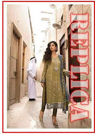MARIA.B Embroidered Lawn Suit MB18 5B RP in Pakistan