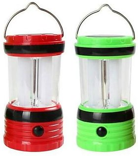 5000 Mah Solar Rechargeable Power Bank With 8 Led Lantern Pack Of 2 in Pakistan