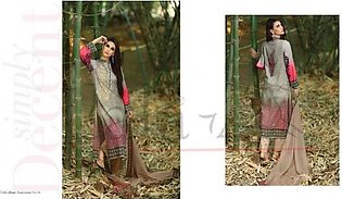 LALA TEXTILES Embroidered Lawn Suit LEC 05B in Pakistan