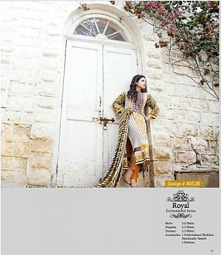 Ittehad Textiles Embroidered Winter Suit ITW 52B in Pakistan