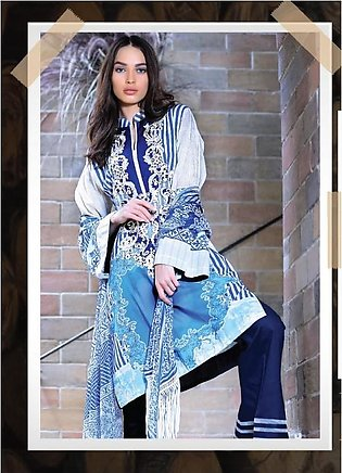 RANGOLI Embroidered Lawn Suit MSR18 02 in Pakistan
