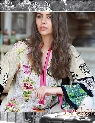 RANGOLI Embroidered Lawn Suit LLE18 06 in Pakistan