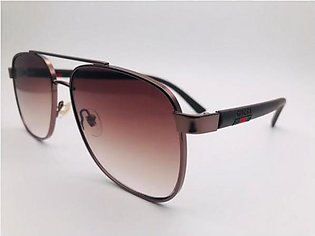 Gucci Dubble Shaded Glass And Brown Frame 42306 SUNGLASSES in Pakistan