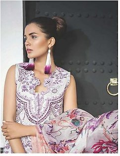 MAHGUL BY AL ZOHAIB Luxury Embroidered Lawn Suit MGLW 8A in Pakistan