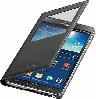 Mobile Accessories Samsung Galaxy Note 3 S-View Flip Cover Black EF-CN900BBE ...