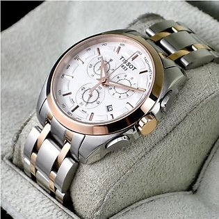 TISSOT COUTURIER CHRONOGRAPH TWO TONE STEEL Watch in Pakistan