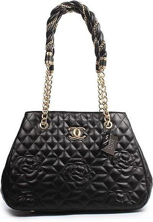 CHANEL Quilted Bowling Black Handbag in Pakistan