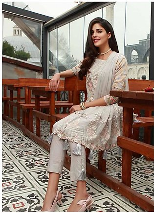 MAHIYMAAN BY AL-ZOHAIB Embroidered Lawn Suit MHM18 05 in Pakistan