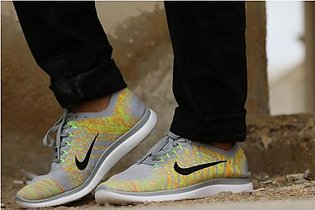 Nike Silver And Multi Sport Shoes 02 in Pakistan
