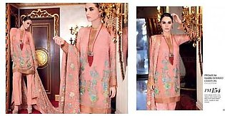 Gul Ahmed Embroidered lawn Suit Eid Collection G PM154 in Pakistan