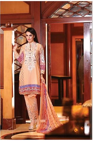 NADIA HUSSAIN Embroidered Lawn Suit NAD 6B in Pakistan