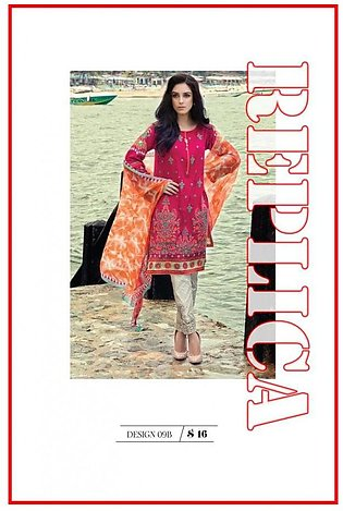Maria B Printed And Embroidered Lawn Suit M6 9B RP in Pakistan