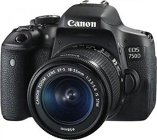 Canon EOS 750 D with 18-55mm Lense in Pakistan
