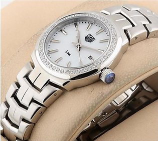 Tag Heuer Link Lady Diamond 2018 Date And Time Silver LADIES Watch in Pakistan