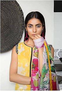 MAHGUL BY AL ZOHAIB Luxury Embroidered Lawn Suit MGLW 4B in Pakistan