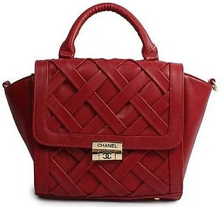 CHANEL Daisy Cut Panel Tote Red Handbag in Pakistan
