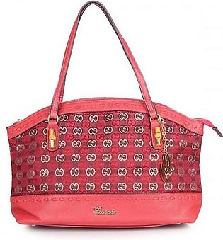GUCCI Laidback Crafty GG Canvas Bag - Red Hand Bag in Pakistan