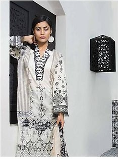 MAHGUL BY AL ZOHAIB Luxury Embroidered Lawn Suit MGLW 5A in Pakistan