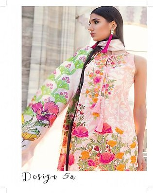 MINA HASAN BY SHARIQ Embroidered Lawn Suit MINA18 5A in Pakistan