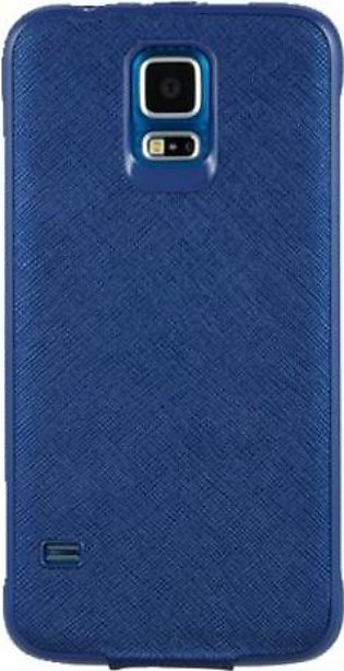 Mobile Accessories S5 View Flip Case (Blue) in Pakistan