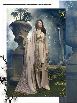 ITTEHAD TEXTILES Formal Embroidered Chiffon Suit IRFC18 01 in Pakistan