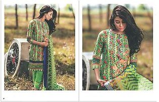 Al Karam Embroidered Lawn Suit AK2 102G in Pakistan