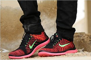Nike Black And Red Sport Shoes 01 in Pakistan