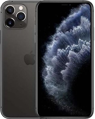 Apple iPhone 11 Pro Max 6.5 Inch 4GB RAM 64GB ROM Single Sim Grey Without War...