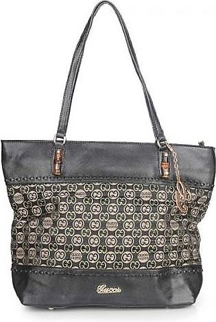 GUCCI Laidback Crafty GG Canvas Tote Bag - Black Hand Bag in Pakistan